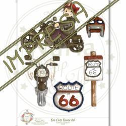 """Die Cuts """"Route 66"""""""