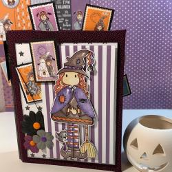 Papeles scrapbooking Halloween