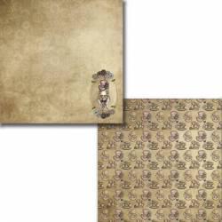 "Colección ""Steampunk"" papeles scrapbooking"