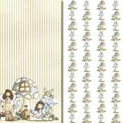 Colección Fantasía papeles scrapbooking