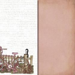 Colección Rústica papeles de scrapbooking